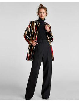 faux-shearling-coat by zara