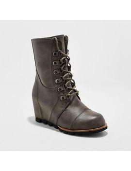 Women's Marisol Lace Up Wedge Hiker Boots   Merona™ by Merona™