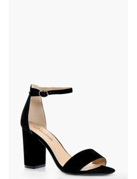 lois-two-part-block-heels by boohoo