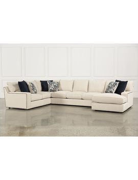Rennell 3 Piece Sectional W/Raf Chaise by Living Spaces