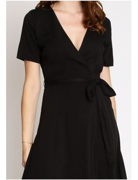You And I Surplice Dress by Ruche