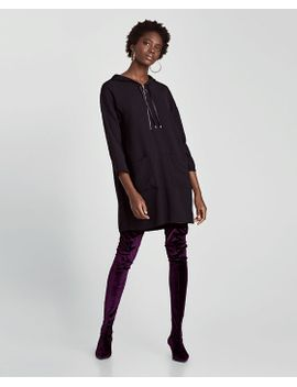 pleated-jumpsuit-dress--dresses by zara