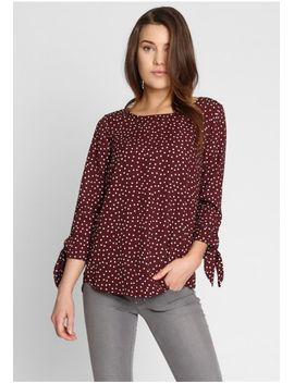 Soft Touch Polka Dot Top by Ruche