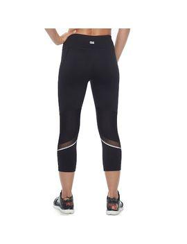 333a5adcdd4c4 Shoptagr | Women's Fila Sport® Solid Mesh Inset Capri Leggings by ...