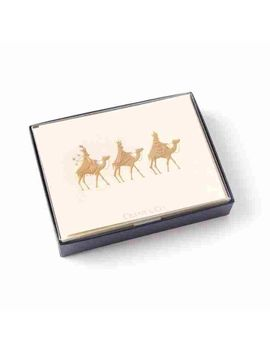 three wise men boxed christmas cards set of