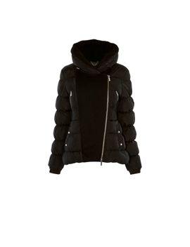 feather-padded-puffer-jacket by karen-millen