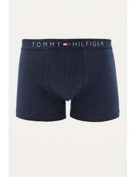9995ab5380 Shoptagr | Tommy Hilfiger Icon Navy Boxer Trunks by Urban Outfitters