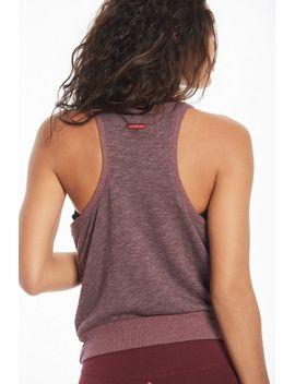Boxy Crop Racer Tank by Hard Tail Forever