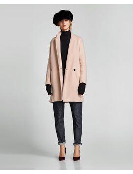 casaco-cruzado-suave by zara
