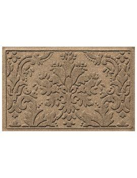 Home Accents Aqua Shield 2' X 3' Damask Doormat by Ashley Homestore