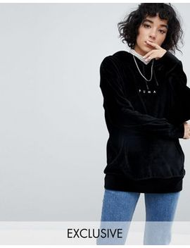 puma-exclusive-to-asos-velvet-hoodie-in-black by puma