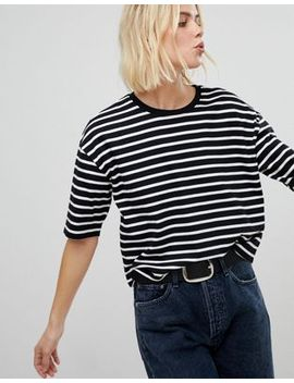 new-look-stripe-boxy-tee by new-look
