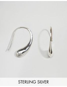 kingsley-ryan-sterling-silver-teardrop-through-&-through-earrings by kingsley-ryan