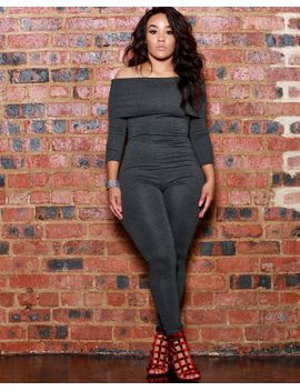 Charly Charcoal Jumpsuit by Bdonnas