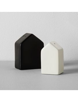 house-salt-and-pepper-shaker-set-(2pc)---black_cream---hearth-&-hand-with-magnolia by black_cream