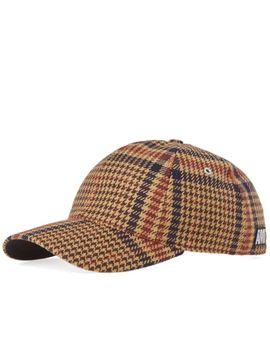 ami-prince-of-wales-check-cap by ami