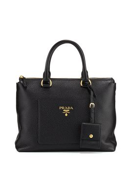 vitello-daino-tote-bag by prada