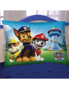 "nickelodeon-paw-patrol-top-puppy-reversible-20""-x-26""-pillowcase,-1-each by nickelodeon"
