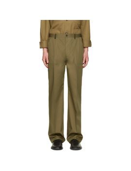 green-replica-fatigue-trousers by maison-margiela