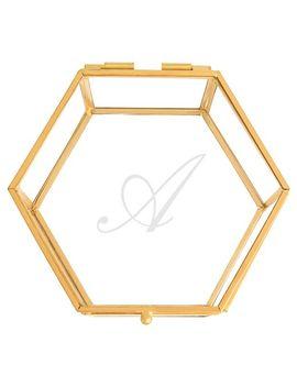 monogram-gold-glass-keepsake-box by cathys-concepts