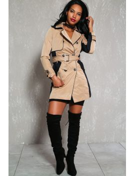 sexy-beige-waterproof-double-breasted-trench-coat by ami-clubwear