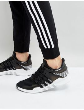 adidas-originals-eqt-support-adv-sneakers-in-black-by9585 by adidas-originals