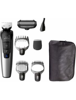 multigroom-series-7400-wet_dry-trimmer-with-3-guide-combs---black_chrome by philips-norelco