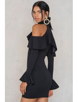 frill-flute-sleeve-dress by trendyol