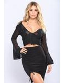miss-fancy-sheer-top---black by fashion-nova