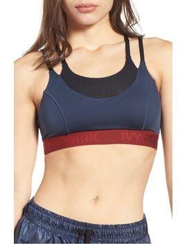 colorblock-double-layer-sports-bra by ivy-park