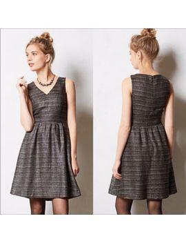 moulinette-soeurs-glissade-shimmer-tweed-dress by poshmark