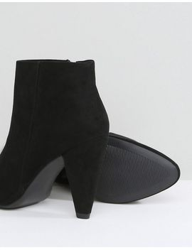 new-look-wide-fit-suedette-cone-heeled-ankle-boot by new-look