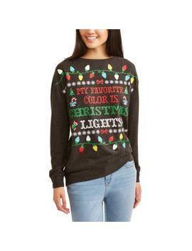 juniors-holiday-christmas-graphic-pullover-sweatshirt by no-boundaries