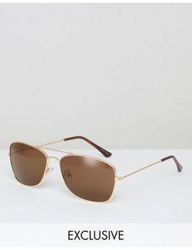reclaimed-vintage-aviator-sunglasses by reclaimed-vintage