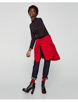 camisa-vestido-bolsos--midivestidos-mulher-saldos by zara