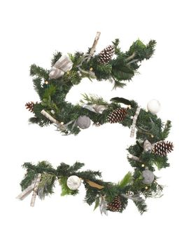 9ft-sweater-jewel-garland by tinsel-and-fir