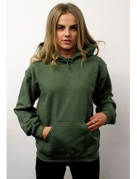millitary-green-hoodie by no-brand-name