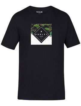 mens-breaking-waves-graphic-print-t-shirt by hurley