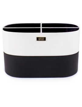 soho-large-countertop-organizer-black-&-white by soho