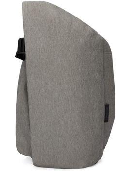grey-medium-isar-eco-yarn-backpack by cÔte-&-ciel