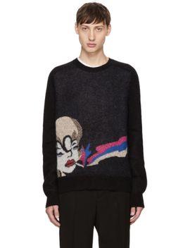 black-smoking-lady-sweater by saint-laurent