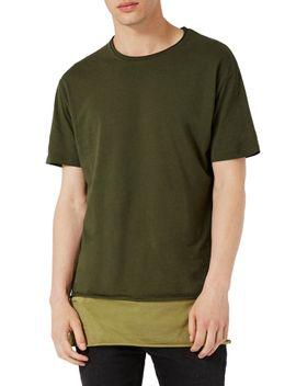 double-layer-longline-t-shirt by topman