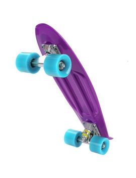 "22""-complete-skateboard-with-colorful-wheels-for-kids,-boys,-girls,-youths,-beginners by skateboards"