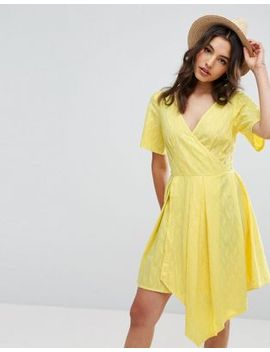 asos-wrap-mini-dress by asos-collection