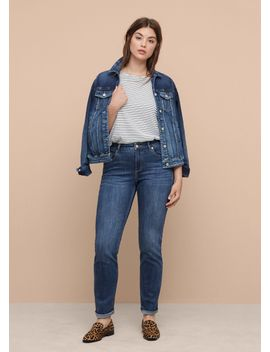 jeans-straight-theresa by mango
