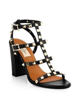 rockstud-cage-sandals by valentino-garavani