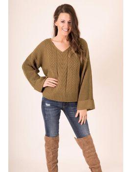 always-ready-sweater---olive by hazel-&-olive
