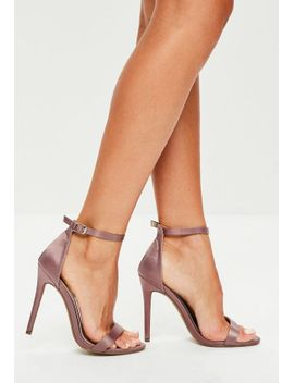 purple-strappy-satin-barely-there-heels by missguided