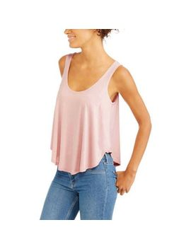 womens-textured-knit-swing-tank by no-comment