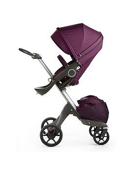 stokke-xplory-v5-stroller-in-purple by stokke